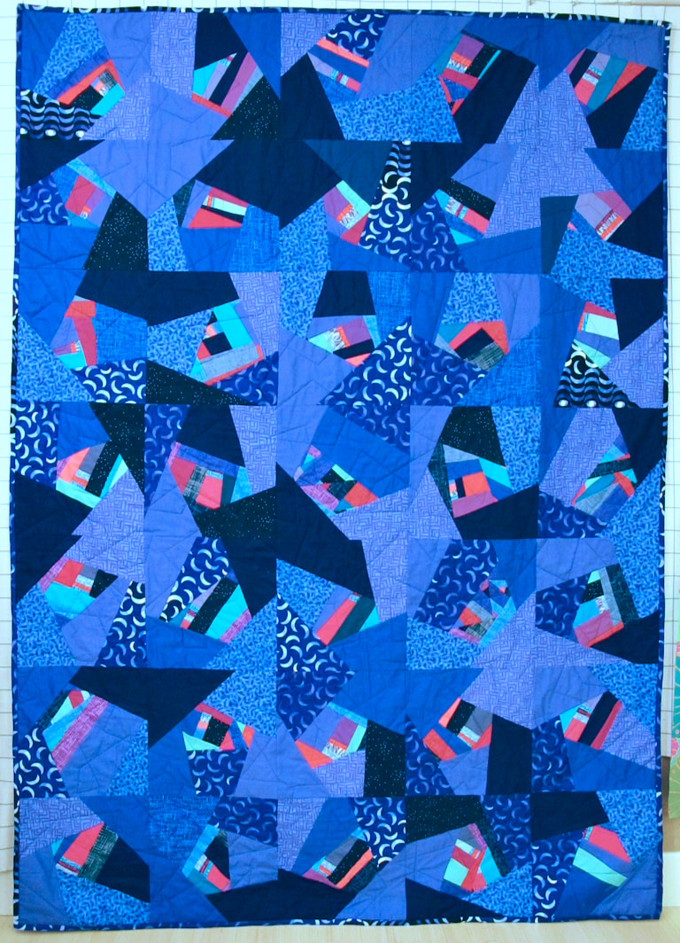 For Alejandro by Carol Van Zandt, quilted by Hello Stitch