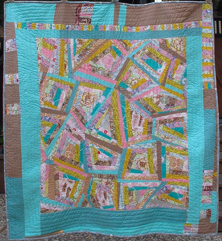 by Carol Van Zandt, quilted by Terry Carpenter